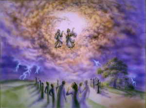 Revelations two witnesses are symbolized by Moses & Elijah